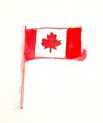 PAWI Canadian Flag